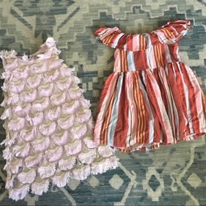 2 Girls' Osh Kosh 4T Dresses